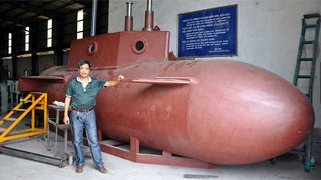 Động cơ tàu ngầm Trường Sa đã thử nghiệm hàng chục lần