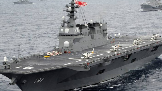 Tàu sân bay trực thăng Hyuga - Niềm tự hào của Hải quân Nhật