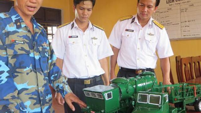 Độc đáo mô hình xe nạp đạn của hệ thống tên lửa bờ Redut