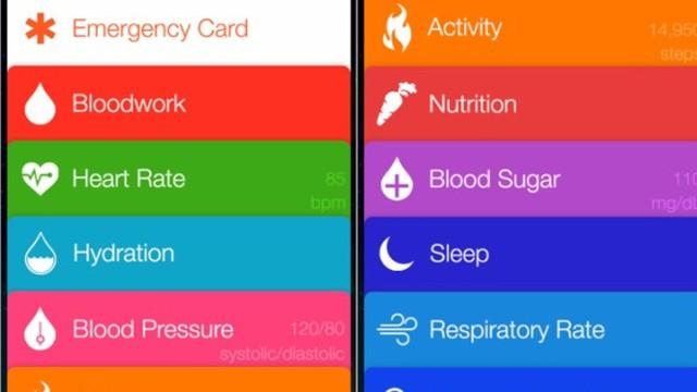 Hình ảnh về ứng dụng mới được Apple cung cấp trên iOS 8