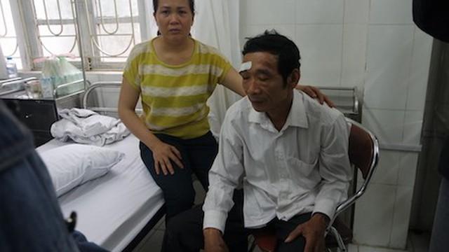 Nạn nhân vụ thép rơi trúng đầu: Thoát chết nhờ đội MBH