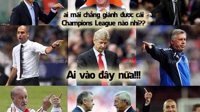 """Ảnh vui: Van Gaal cầm đầu làn sóng """"troll"""" Wenger"""