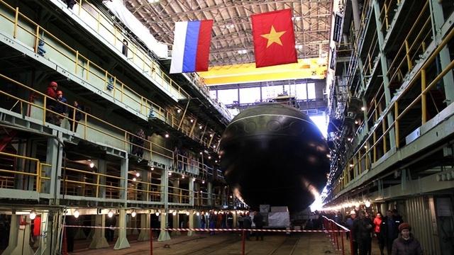 Hôm nay, Nga khởi đóng tàu ngầm Kilo thứ 6 cho Việt Nam