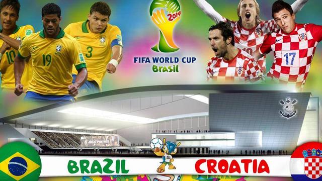 SOPCAST và link xem TRỰC TIẾP Brazil vs Croatia