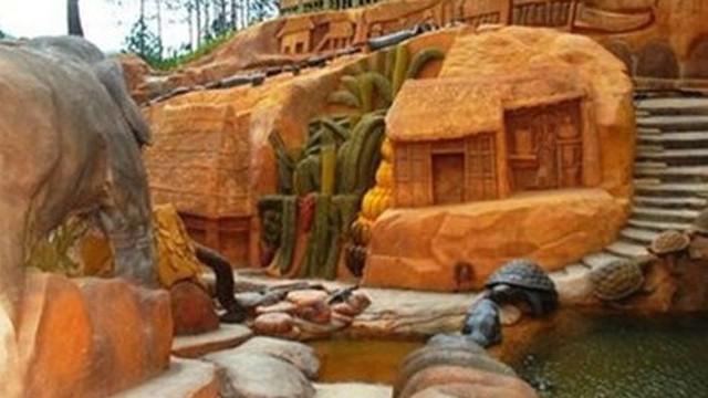 Độc đáo nhà đất sét, đường hầm điêu khắc trên cao nguyên Đà Lạt