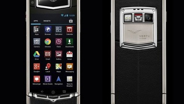"""Điểm danh 10 chiếc điện thoại siêu sang chỉ dành cho """"đại gia"""""""