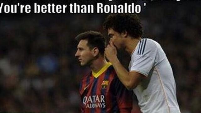 Ảnh chế: Phát hiện động trời về Pepe và Messi