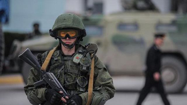 Lính thủy đánh bộ Ukraine tại Crimea nhận tối hậu thư