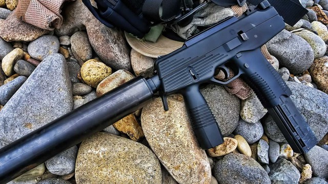 """Steyr TMP - """"Con lai"""" giữa súng ngắn và súng tiểu liên"""