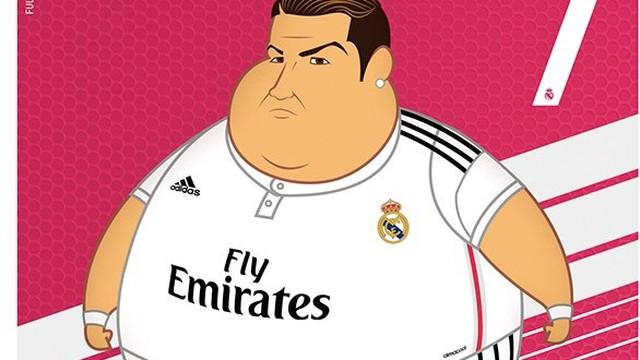 Ronaldo, Bale, James Rodriguez... cực kute trong hình ảnh mập ú