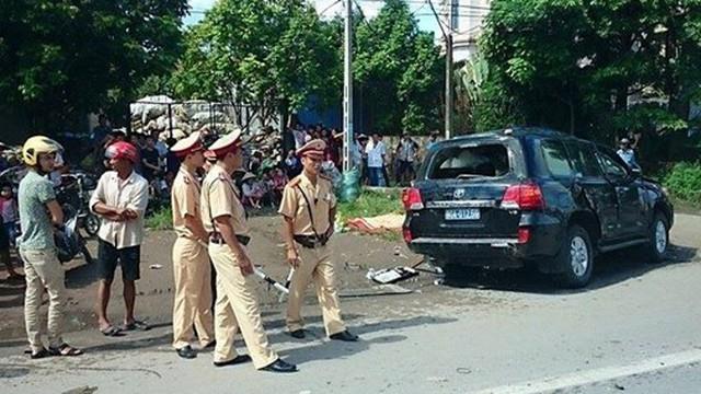 Bắt khẩn cấp tài xế gây tai nạn khiến tướng công an tử vong