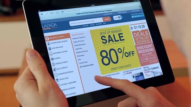 """Lazada thu hút người tiêu dùng với """"Cách mạng mua sắm trực tuyến"""""""