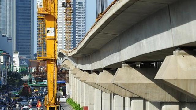 Vay thêm 250 triệu USD cho đường sắt Cát Linh - Hà Đông