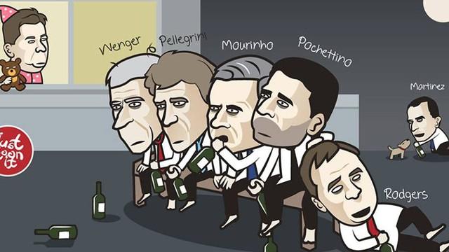 Đồng cảnh thất bại, Mourinho rủ Wenger nhậu nhẹt trác táng