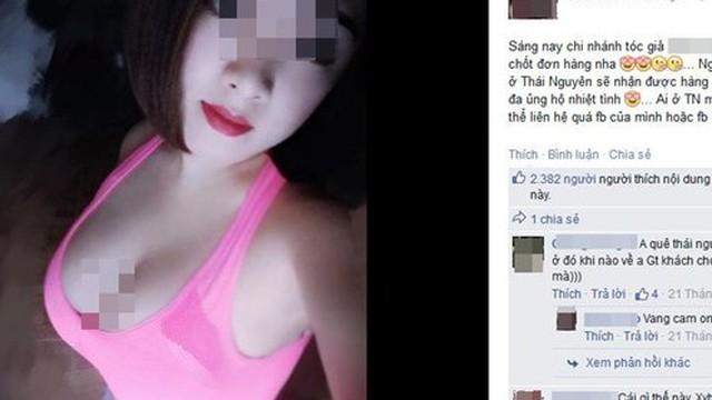 Gần 90.000 facebooker bị cô giáo ngực khủng 'dắt mũi' để bán tóc giả