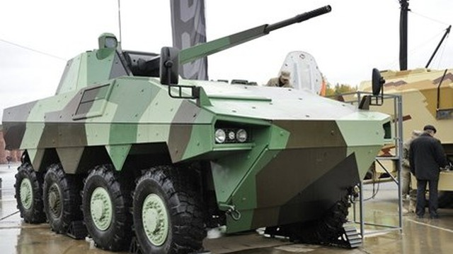 Nga sắp trình làng đối thủ của T-15 Armata