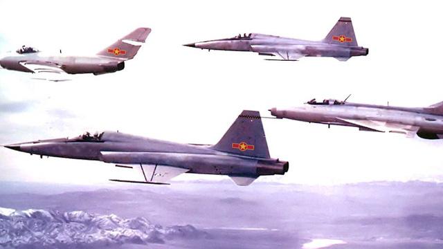 Cuộc di chuyển lực lượng ra Bắc của Không quân Việt Nam năm 1979