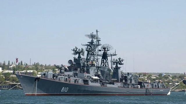 """Vụ nổ súng cảnh cáo tàu Thổ Nhĩ Kỳ: Nga dùng chiếm hạm """"đồ cổ"""""""