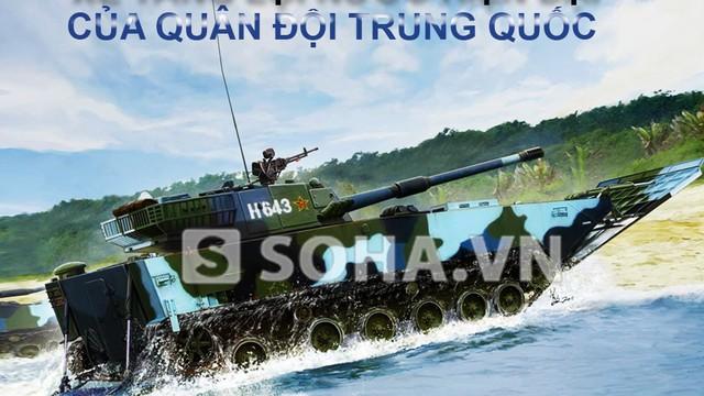 [INFOGRAPHIC] Xe tăng lội nước nguy hiểm của Lính thủy đánh bộ TQ