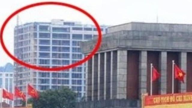 """Tòa nhà cao vọt cạnh Lăng Bác: """"Tôi cho rằng chủ đầu tư này giỏi"""""""