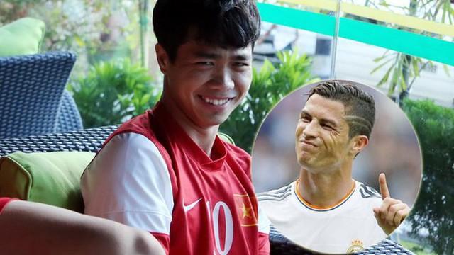 """Công Phượng """"âm mưu"""" gì khi giáp mặt Ronaldo?"""