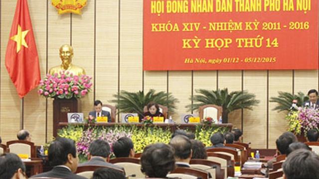 Khai mạc kỳ họp HĐND giới thiệu bầu tướng Chung làm Chủ tịch TPHN