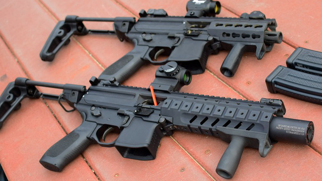 MPX-K: SIG MPX - Tiểu liên MP5 của thế kỷ 21   soha vn