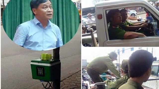 PGĐ Sở GTVT Hà Nội nói gì về việc bình trà miễn phí bị thu giữ?