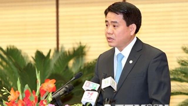 Tân Chủ tịch Hà Nội Nguyễn Đức Chung trả lời phỏng vấn TTXVN