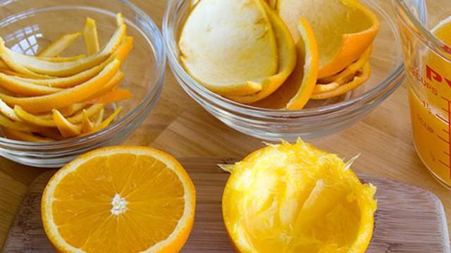 Vỏ cam khử mùi hôi miệng triệt để