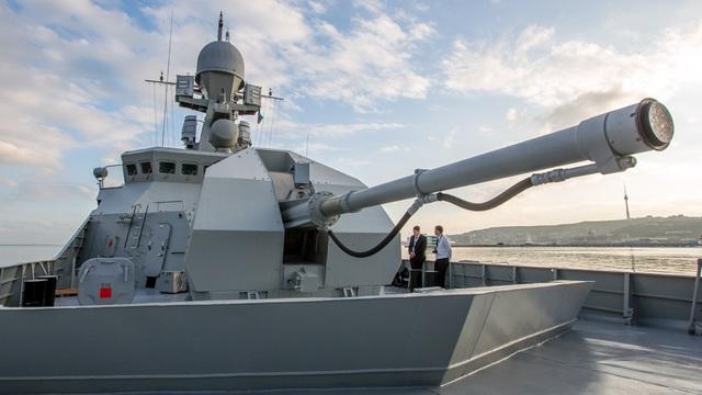 """""""Zoom"""" vũ khí trên tàu hộ tống """"nhỏ nhưng có võ"""" của Hải quân Nga"""
