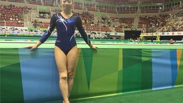 Nữ hoàng Thể dục dụng cụ Việt Nam nhận tin buồn ở Rio