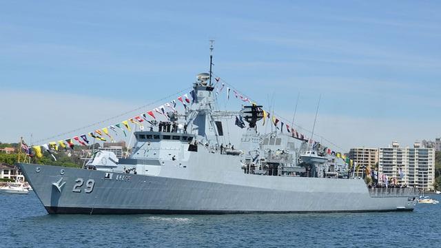 """""""Cú đấm thép"""" của Hải quân Malaysia"""