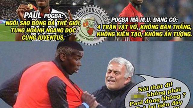 "Ảnh chế: Man United bị lừa bán cho Pogba ""fake""?"
