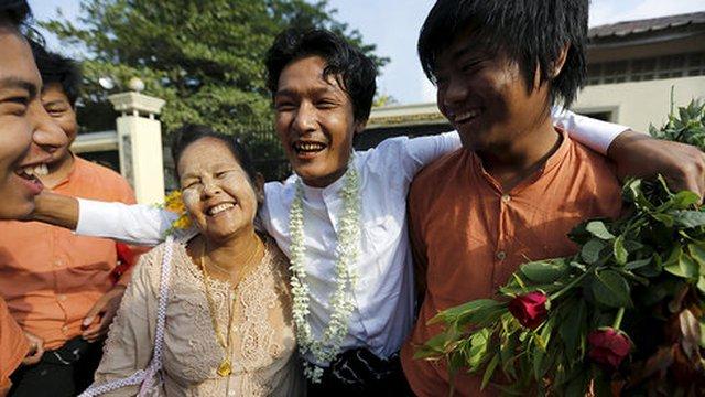 Myanmar ân xá 83 tù nhân ngày đầu năm mới