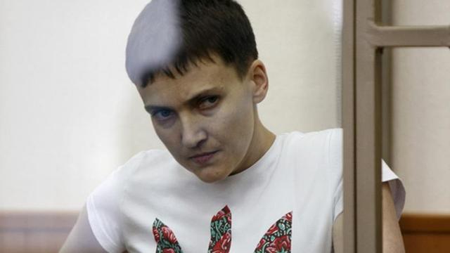 Nga sắp phóng thích nữ phi công Ukraine