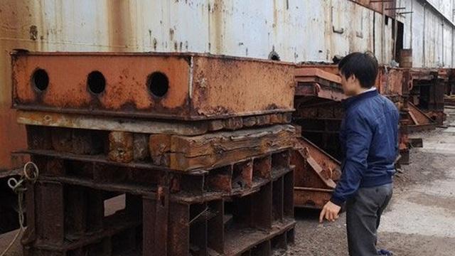 Vụ Dương Chí Dũng: Khám phá ụ nổi 500 tỷ trước ngày thành sắt vụn
