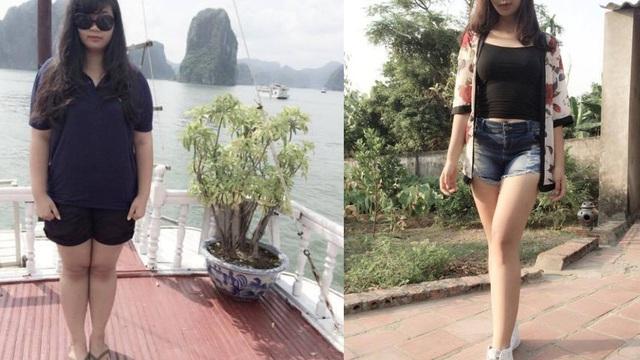 Cô nàng 1m78 - nặng 98kg, giảm 31kg trong vòng 6 tháng