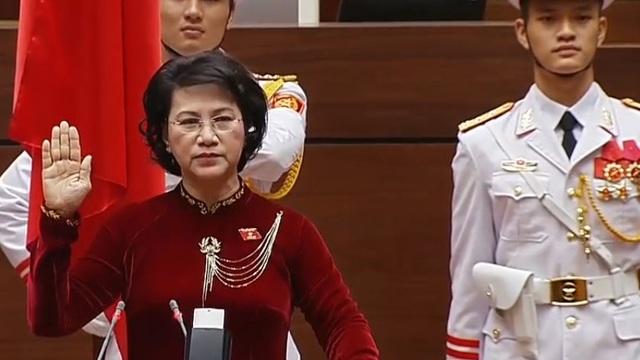 Bà Nguyễn Thị Kim Ngân tái đắc cử Chủ tịch Quốc hội khóa 14