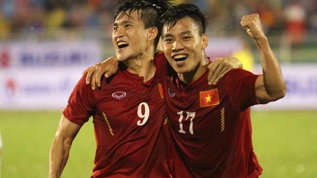 Việt Nam 2-1 Myanmar: Công Vinh phá thêm kỷ lục ghi bàn