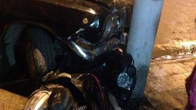 Tài xế xe biển xanh bị đánh nhập viện cấp cứu vì gây tai nạn