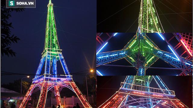 """Toà tháp """"Eiffel"""" khổng lồ ở xứ Nghệ độc đáo như thế nào?"""