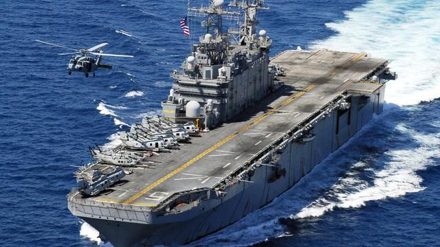 [Ảnh] Siêu hạm Mỹ từng được dự định mang tên địa danh Việt Nam