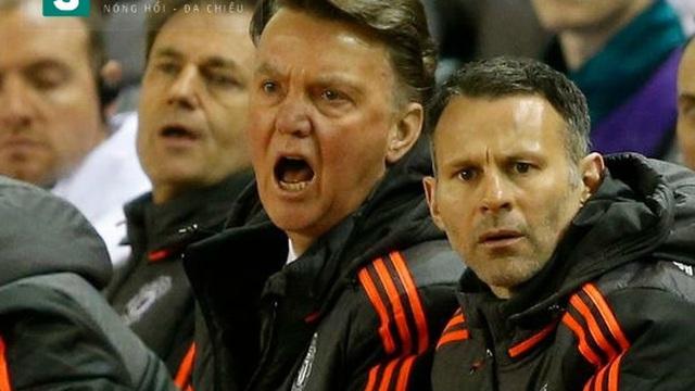 Thất bại, Van Gaal lại tiếp tục bài ca đổ lỗi
