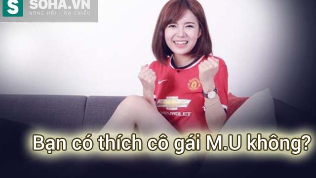 Cô gái Man United xinh đẹp, tài năng, nhưng...
