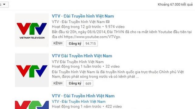 Kênh Youtube của Đài bị ngưng, VTV thừa nhận BTV sai quy trình