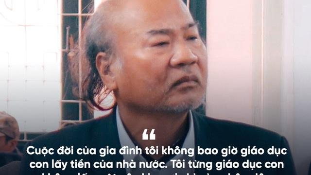 Bố Giang Kim Đạt: Tôi từng giáo dục con không lấy một cây kim sợi chỉ của nhân dân