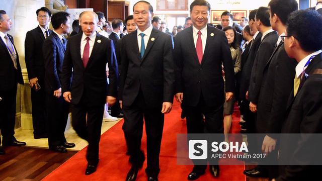 [ẢNH] Các trưởng đoàn kinh tế dự Đối thoại không chính thức APEC-ASEAN