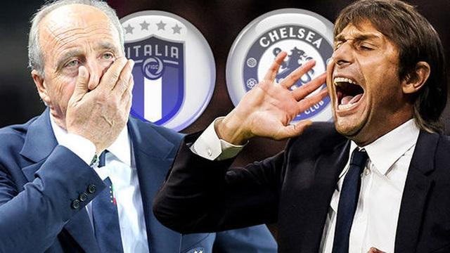 """Italia quyết tâm làm thật, Chelsea đứng trước nguy cơ mất """"ngôi sao"""" Conte"""