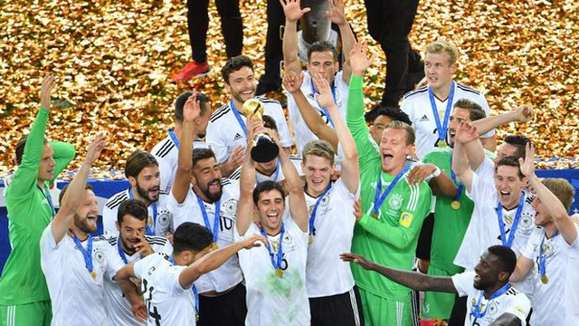 """Vô địch Confed Cup, người Đức phải đối mặt với """"lời nguyền"""" trên đất Nga"""